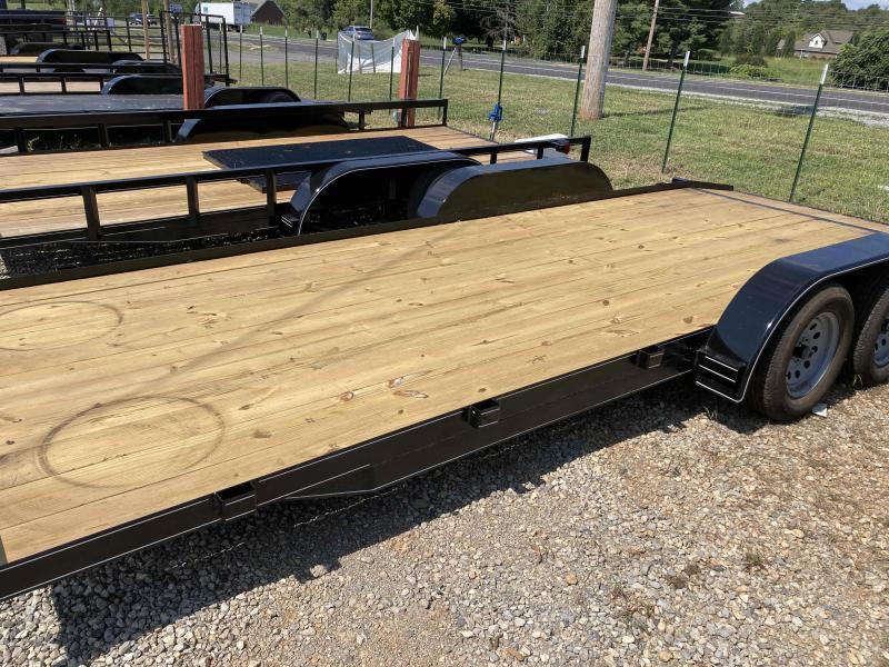 new 2021 Max Built 82x20 wood deck Car / Racing Trailer