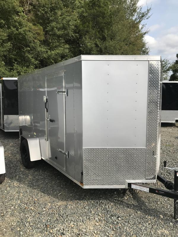 6X12 ENCLOSED CARGO TRAILER