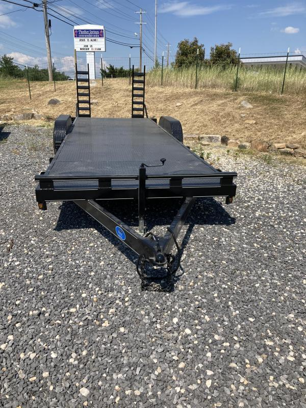 2021 Max Built 24' 10k Equipment Trailer