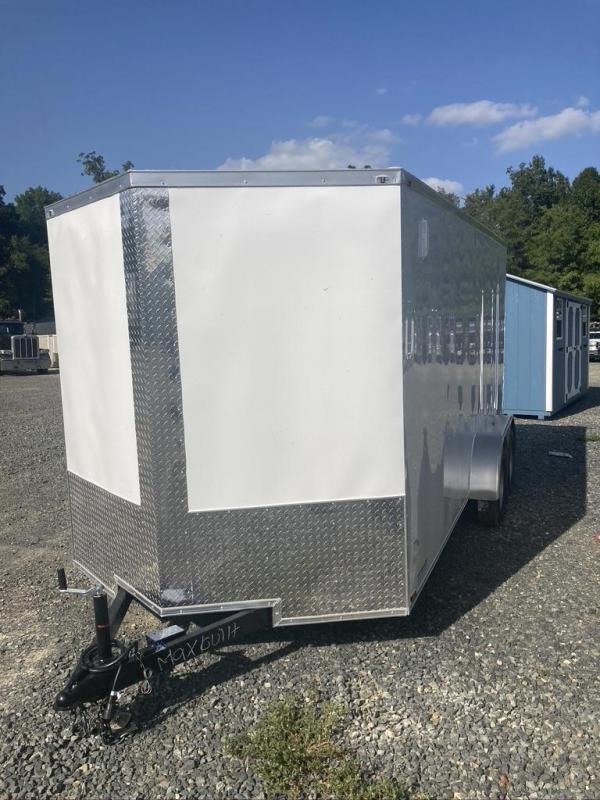2021 Max Built 7X16 TANDEM Enclosed Cargo Trailer