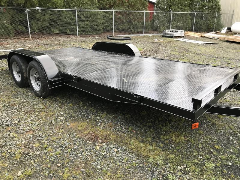2021 Max Built 82X20 STEEL DECK Car / Racing Trailer