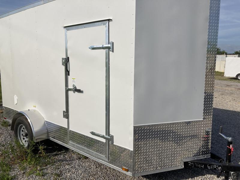 2021 Max Built 6x12 cargo Enclosed Cargo Trailer