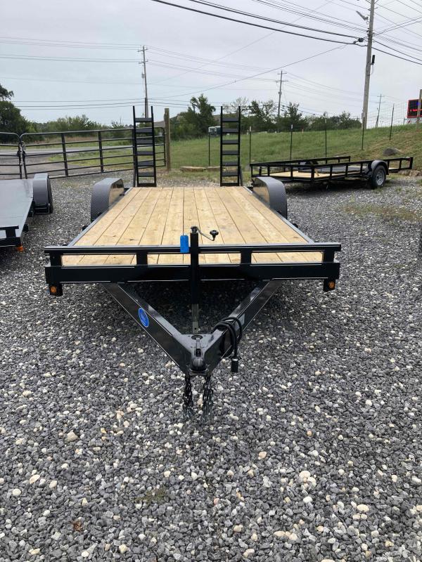 New 2021 Max Built 82x20 10k wood Equipment Trailer