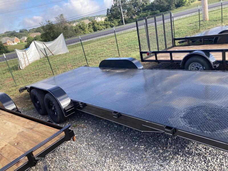 new 2021 Max Built 82x20steal deck Car / Racing Trailer