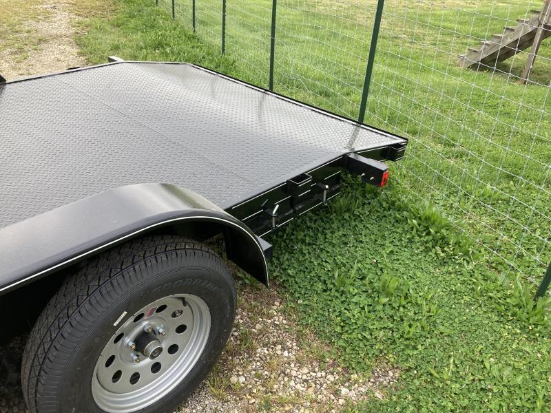2021 Max Built 82X20 STEEL CAR HAULER Car / Racing Trailer