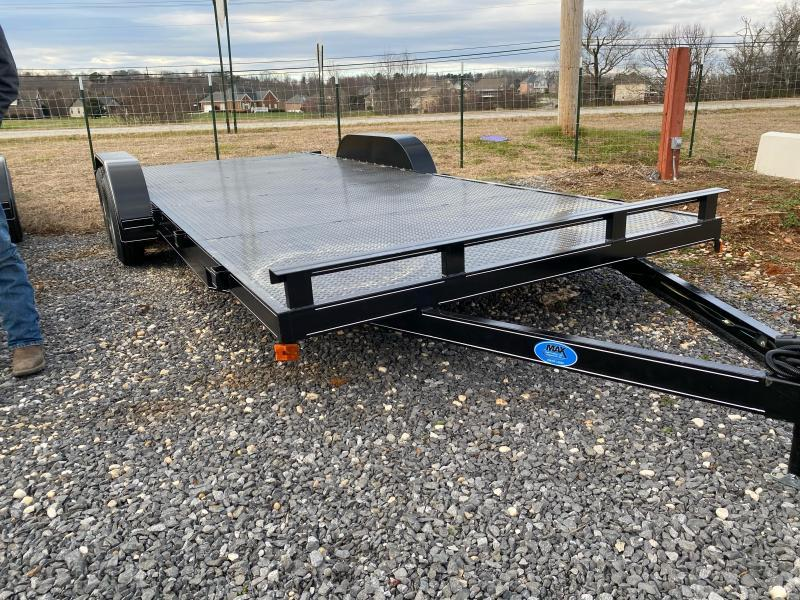 2021 Max Built 82X20 STEEL CAR HAULER Car / Racing Trailer