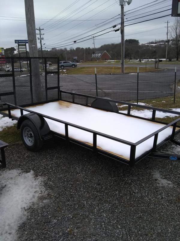2021 Max Built single axle Utility Trailer