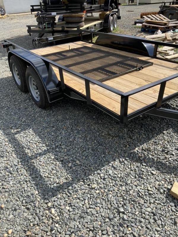 2021 Max Built 12' UTILITY TANDEM TRAILER Utility Trailer