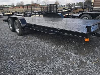2020 Max Built 18' STEEL CAR HAULER