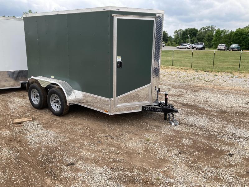 2021 Max Built 6x10 tandem cargo Enclosed Cargo Trailer
