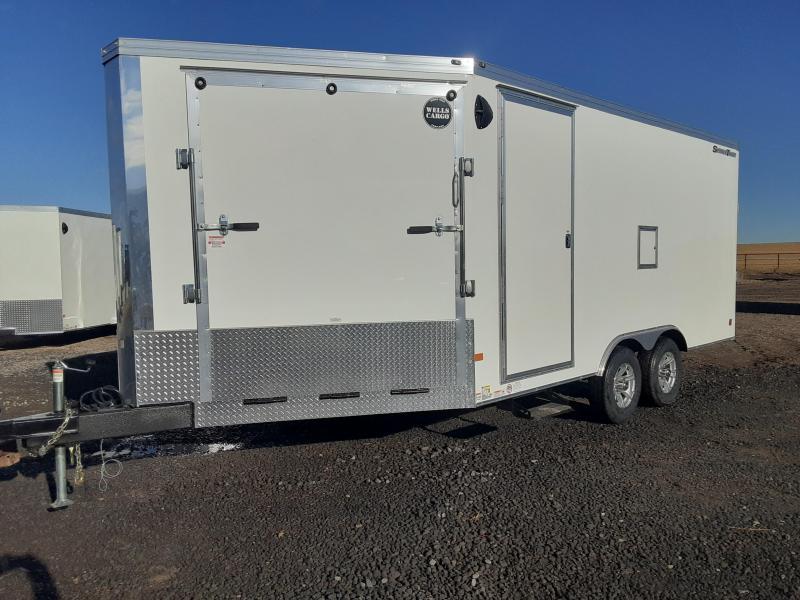 2021 Wells Cargo Enclosed 8.5' X 22'  Snowmobile Trailer