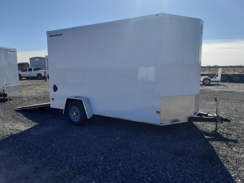 2021 Wells Cargo 7' x 12' Enclosed Cargo Trailer