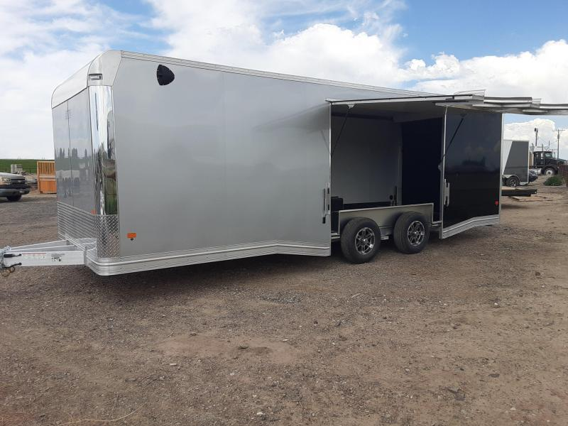2020 EZ Hauler 24' Enclosed Aluminum Car Trailer