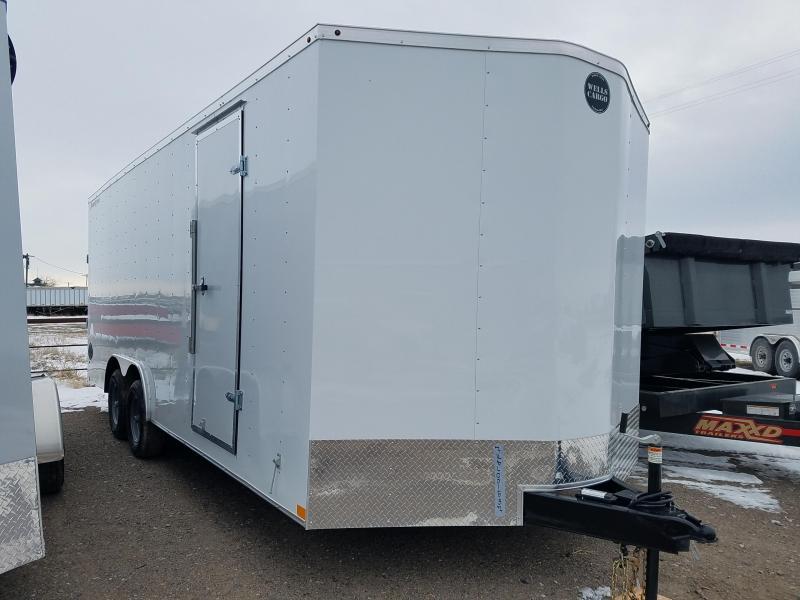 2020 Wells Cargo 8.5' x 20'  10K Enclosed Crago Trailer
