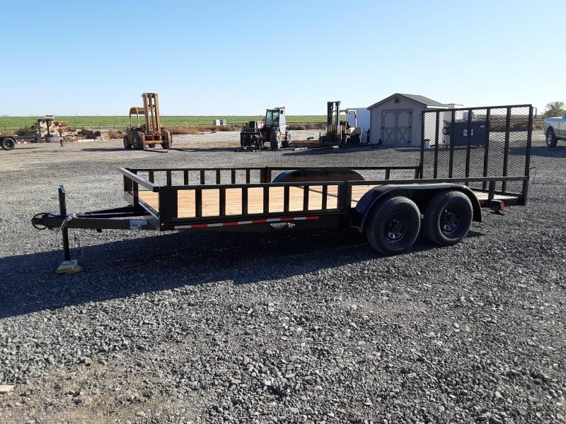 2021 Workhorse 7' x 16' Side and Rear Load Utility Trailer