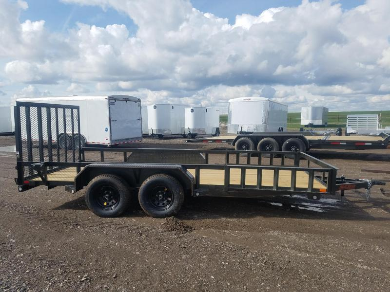 2020 MAXXD 7'x16' Side and Rear Load Utility Trailer