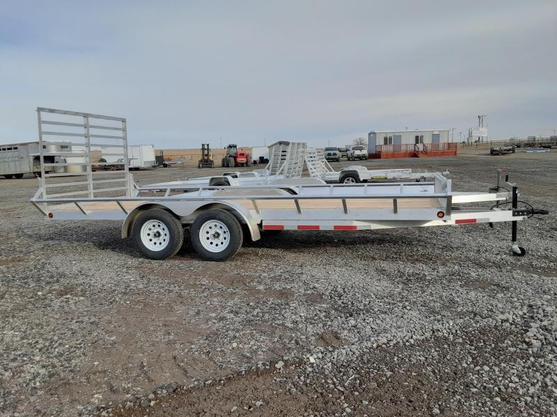 2021 Baughman Products 7'x18' ATV Trailer