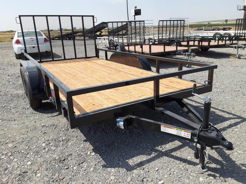 2021 Workhorse 7x14 Utility Trailer Tandem Axle