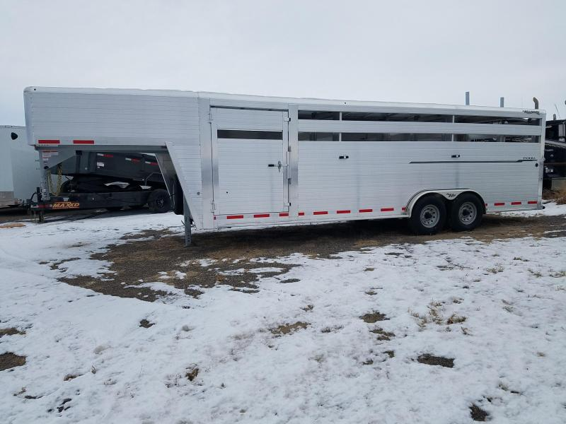 2020 Hillsboro Industries Endura Stock Trailer 24' Horse Trailer