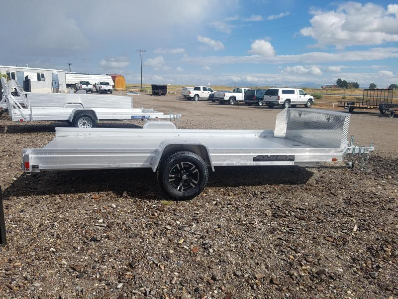 "2021 Aluma UTR-14 Trailer with Toolbox 78""x14'"