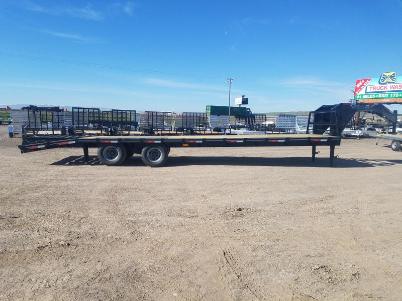 2019 Custom Built 35' Gooseneck 21.5k GVWR Equipment Trailer