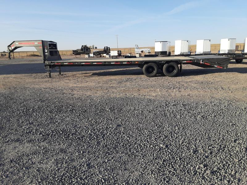 2021 MAXXD 30' Gooseneck 26K Equipment Trailer
