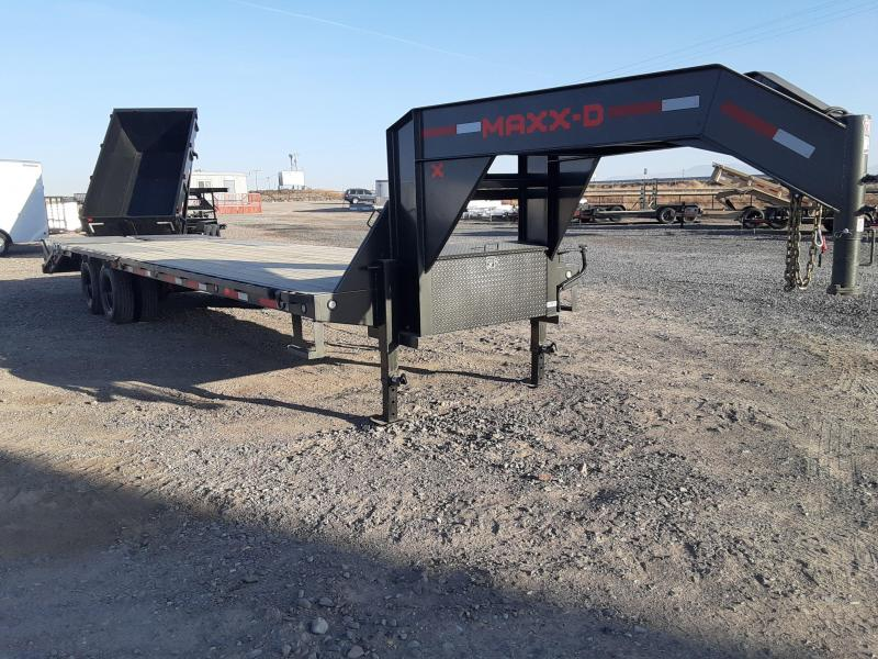 2021 MAXXD 30' Gooseneck 26K Equipment Trailer