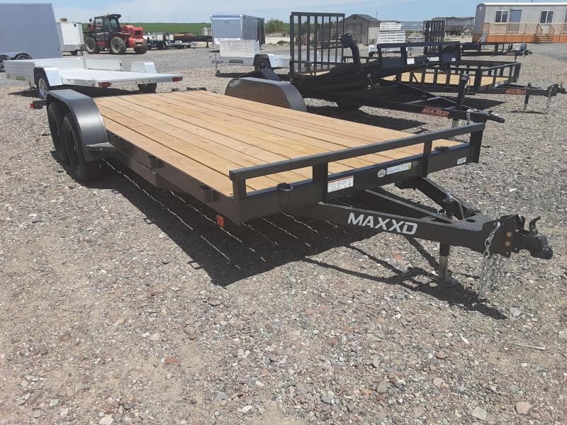 "2020 MAXXD 83"" x 18' Car Hauler Trailer 7K"