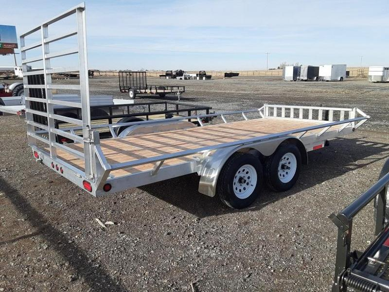 2021 Baughman Products 7'x16' Aluminum ATV Trailer