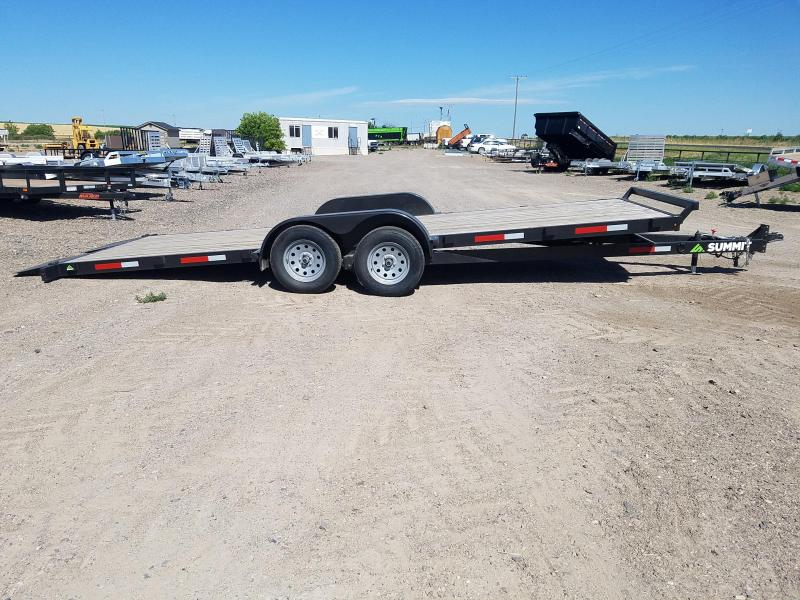 2019 Summit 7 x 20 Tilt Car Hauler Car / Racing Trailer