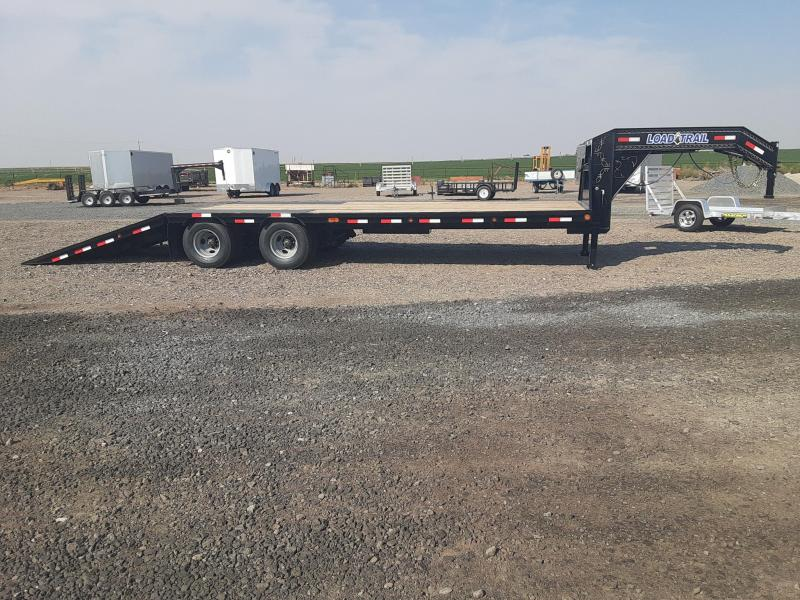 2021 Load Trail 34' GN Hydraulic dove Equipment Trailer