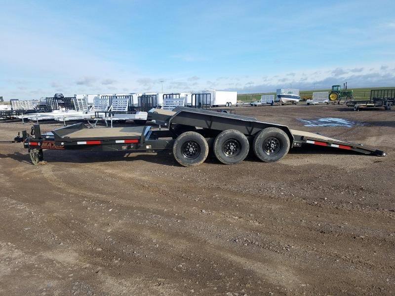 2020 MAXX-D 24' Gravity Tilt Triple Axle Equipment Trailer