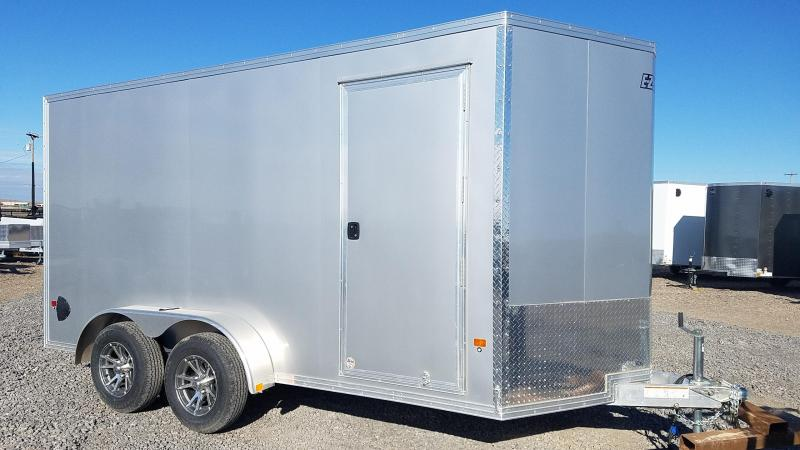 2020 EZ Hauler 7x14 Aluminum Enclosed Cargo Trailer
