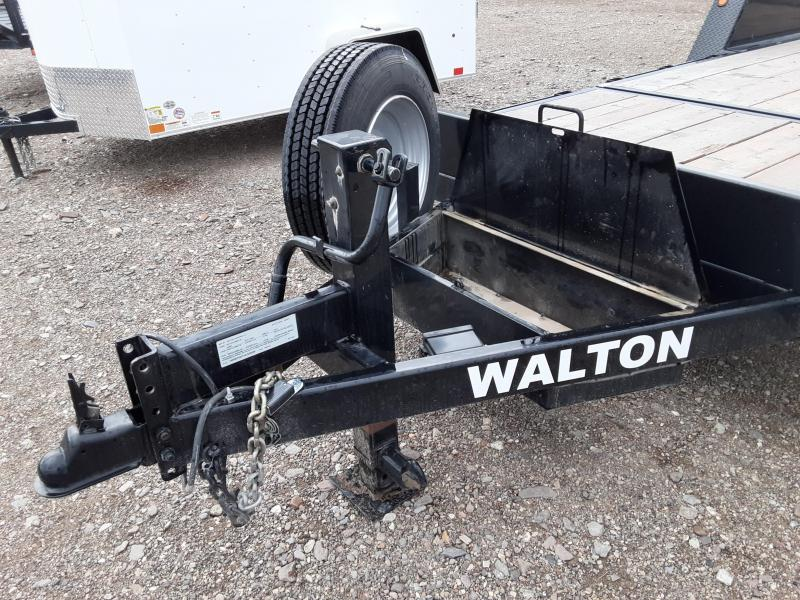 2017 Walton 16K x 20' x  3/4 Tilt Equipment Trailer