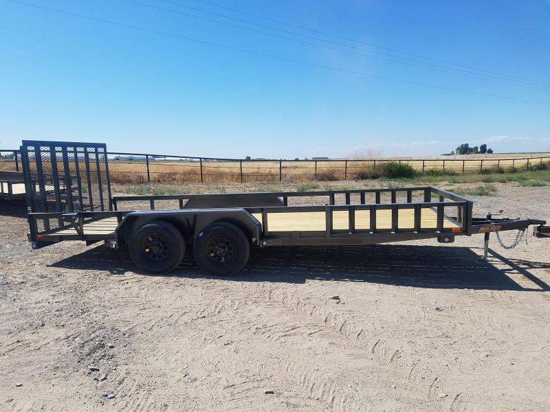 2020 MAXXD 7'x18 Side and Rear Load Utility Trailer