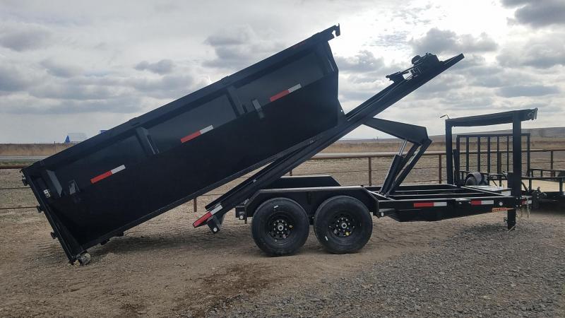2021 MAXXD Roll-Off 7' x 14' Dump Trailer