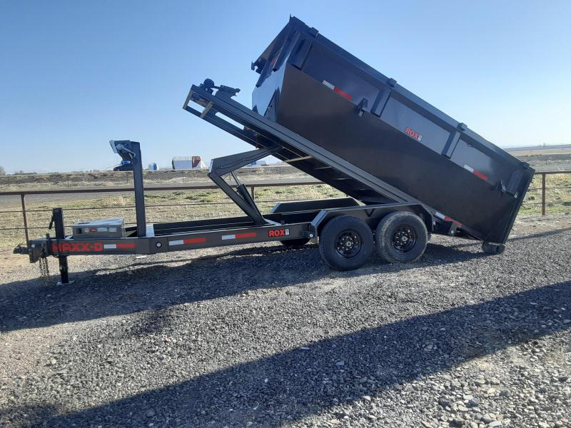 2021 MAXXD Roll-Off 7' x 14' Dump Trailer