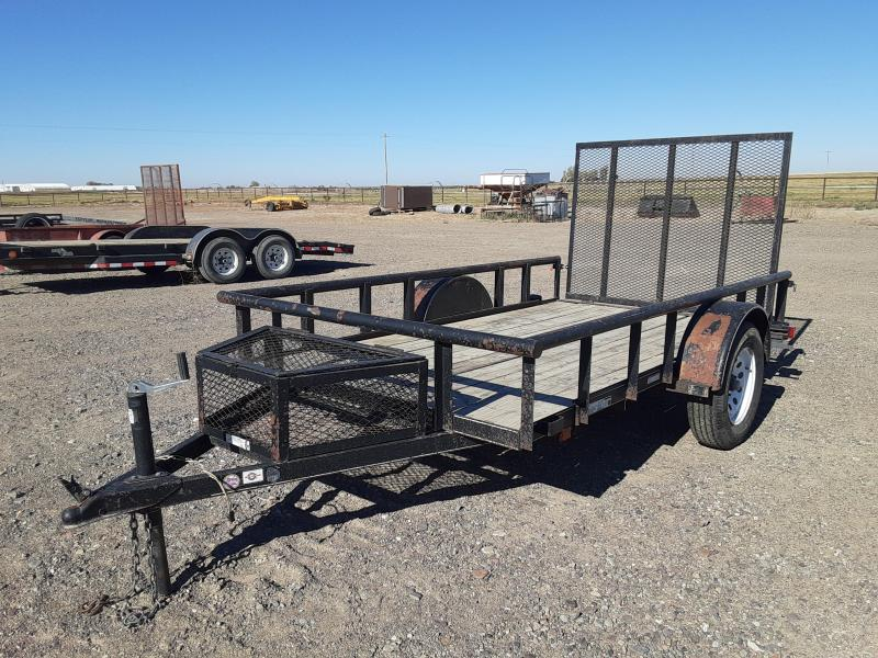 2015 Carry-On 5.5x10 Utility Trailer