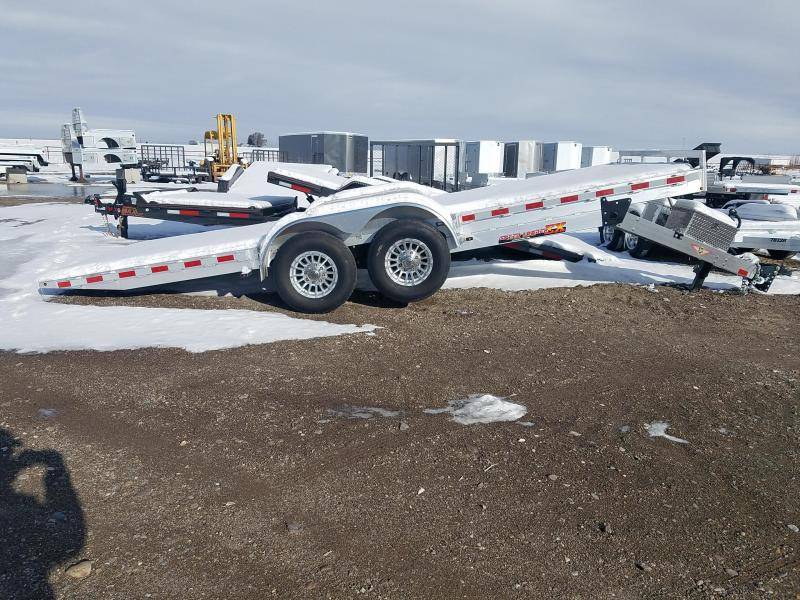 2020 H & H Trailers 20' Power Tilt 14K GVWR Equipment Trailer