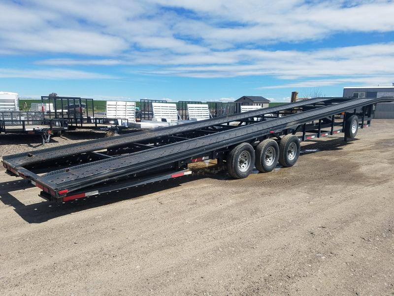 2003 Take 3 Trailers 48 x 8 x 20000 gvwr Wedge Car / Racing Trailer