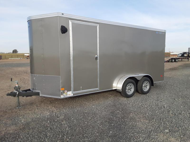 2021 Wells Cargo 7'x16' Enclosed Cargo Trailer