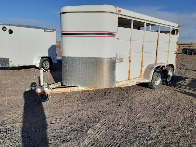 2005 C and B Quality Trailers 16' Stock Trailer