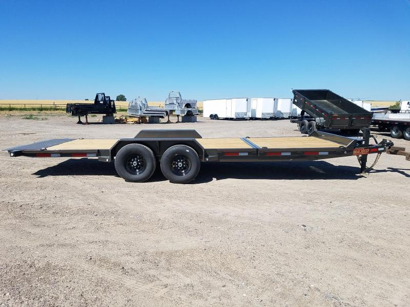 2020 MAXXD 7'X22' Gravity Tilt 14K Equipment Trailer