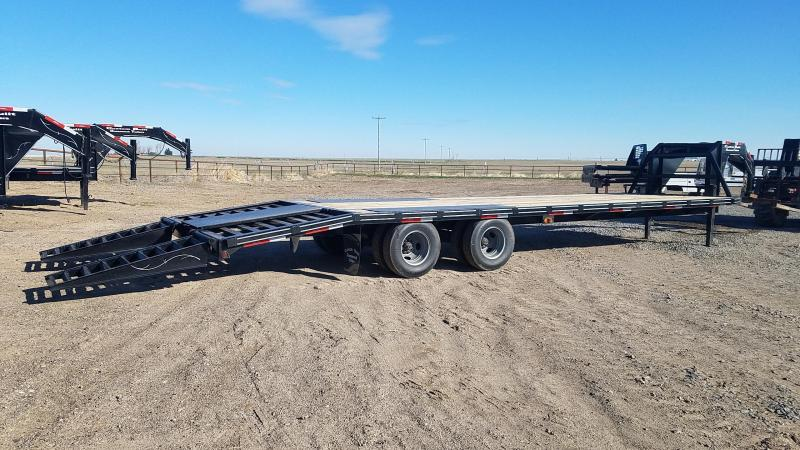 2020 Custom Built 30' Gooseneck 21.5 K GVWR Equipment Trailer