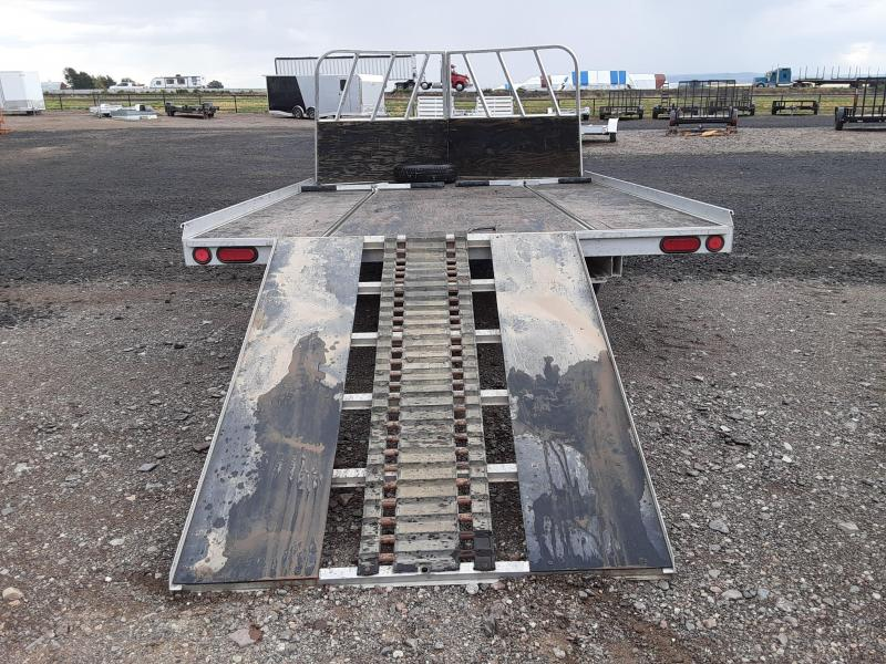 "2009 Aluma 8'6"" X 12' Snowmobile Trailer"