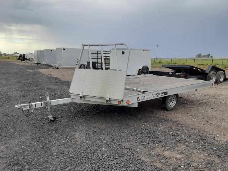 "2009 Aluma 8'6"" X 12' Snowmobile Trailer"