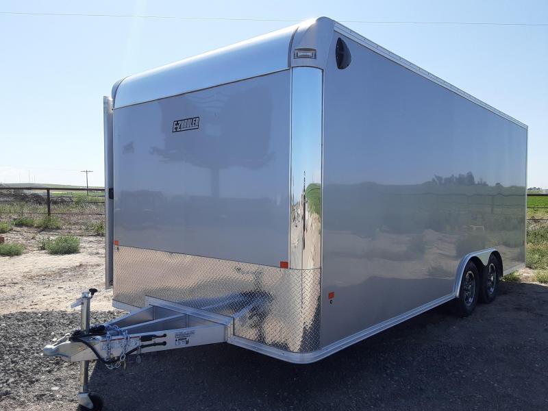 2020 EZ Hauler 8x20 Aluminum Enclosed Car Hauler