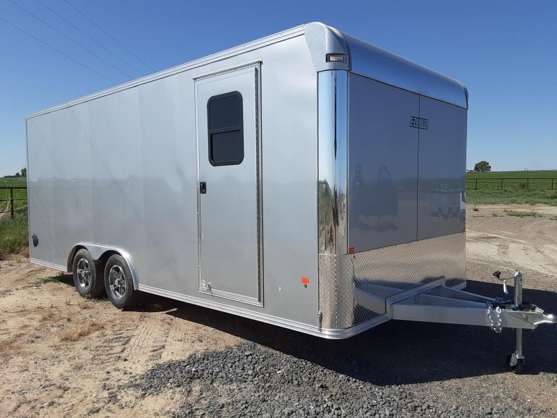 2020 EZ Hauler 8x20 Aluminum Enclosed Car Hauler