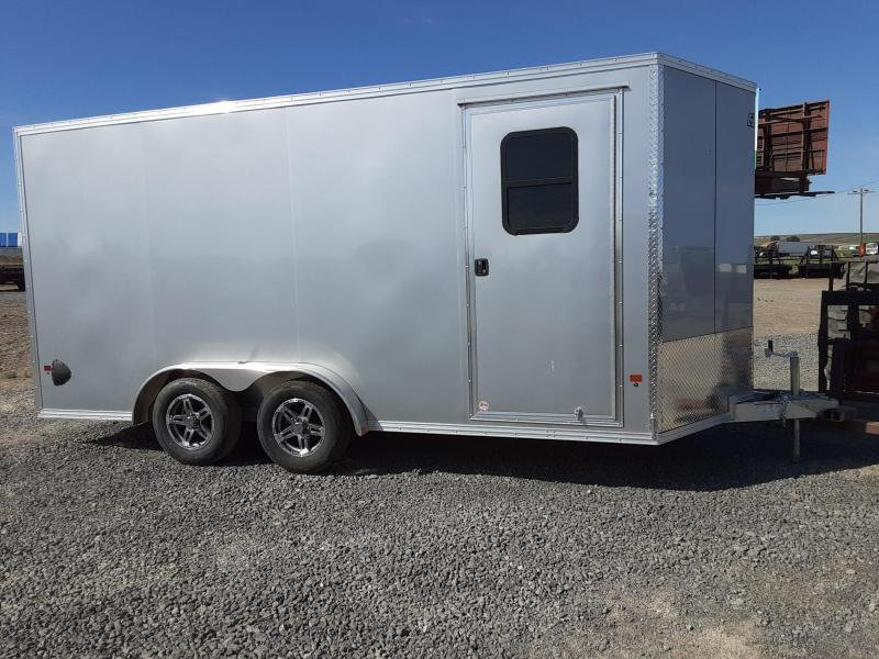 2020 EZ Hauler 7.5'x16' Aluminum Enclosed Cargo Trailer