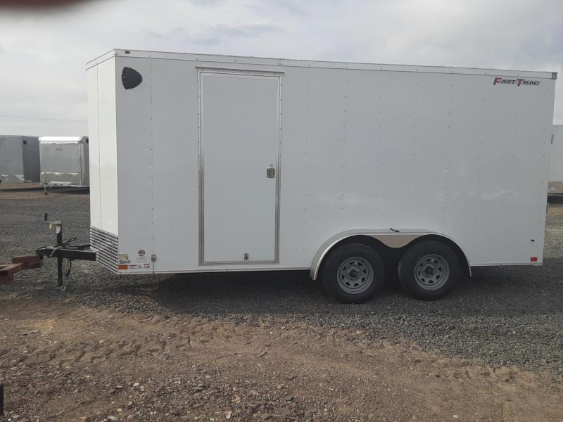 2021 Wells Cargo 7' x 16' Enclosed Trailer 7' Tall